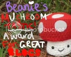 dancing mushroom award