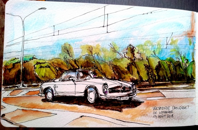 Cabriolet Mercedes