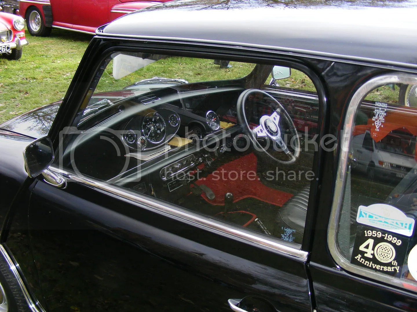 Mini 1275 Gt With Alternator And Rocker Type Switches