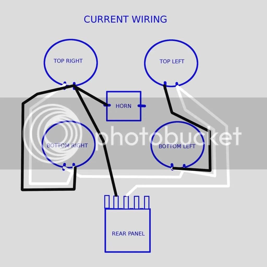 wiring speakers in parallel diagram rotork a range rewiring my xlt 410 me or shop