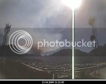 Chaiten volcano, 15 October 2009, 11:22