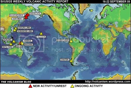 SI/USGS Weekly Volcanic Activity Report 16-22 September 2009