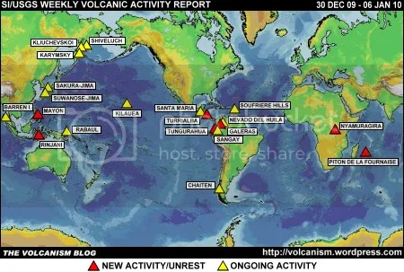 SI/USGS Weekly Volcanic Activity Report 30 December 2009 - 5 January 2010