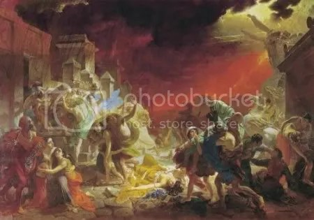 Karl Briullov, 'The last day of Pompeii' (1833)