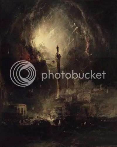 James Hamilton, 'The last days of Pompeii' (1864)