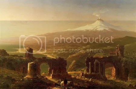 Thomas Cole, 'Mount Etna from Taormina, Sicily' (1843)