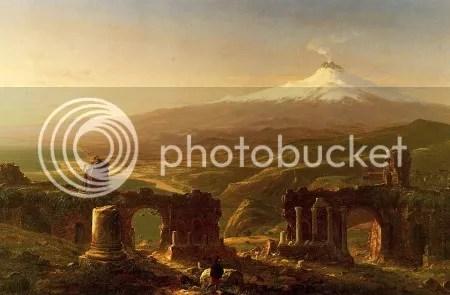 Thomas Cole, 'Mount Etna from Taormina, Sicily' (1843)