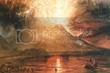 J. M. W. Turner, 'Vesuvius in Eruption (1817)