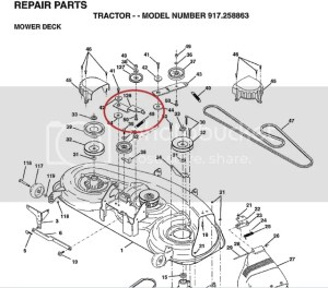 Rear Idler Return Spring Location 46