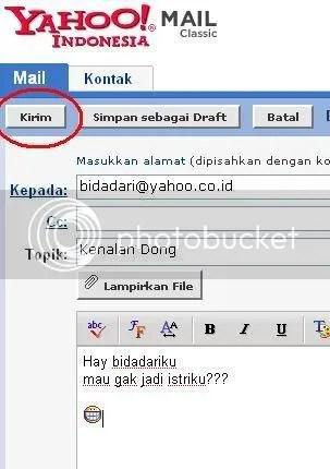 Mengirim Surat email