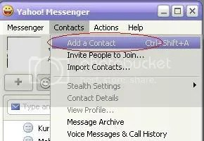 Cara chatting yahoo messenger