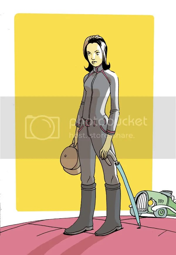 Emma Peel by Graham