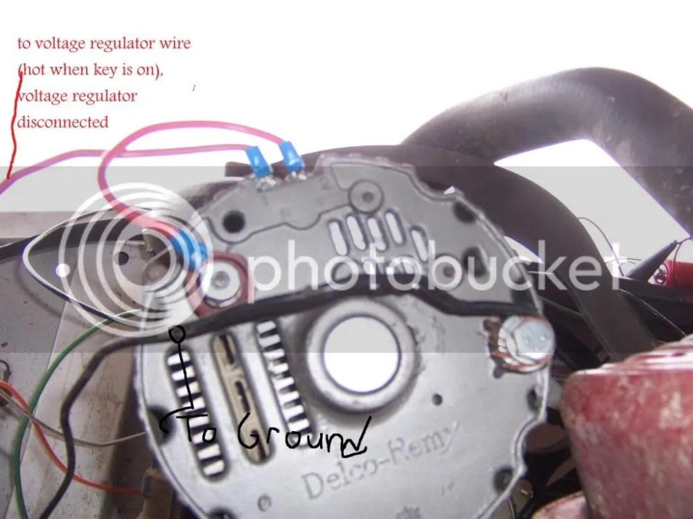 medium resolution of alternator not charging battery the 1947 present chevroletdoes this look right st 67 72 chevy trucks vw bug regulator wiring diagram