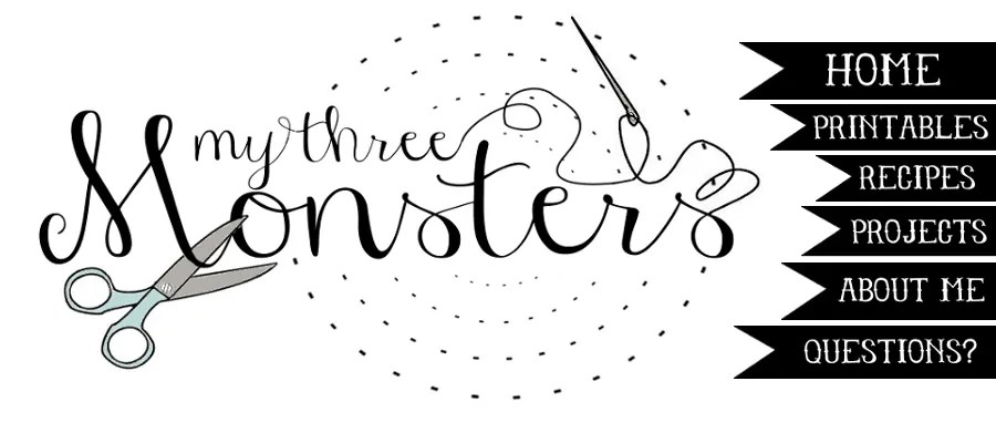 My 3 Monsters: 10 Super Easy Craft Ideas{To Make With