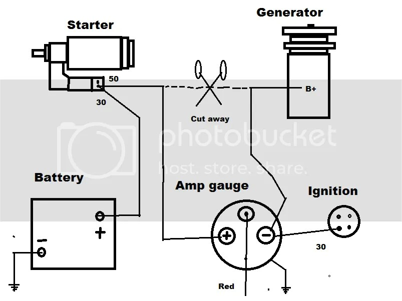 Wiring Diagram For Amp Gauge