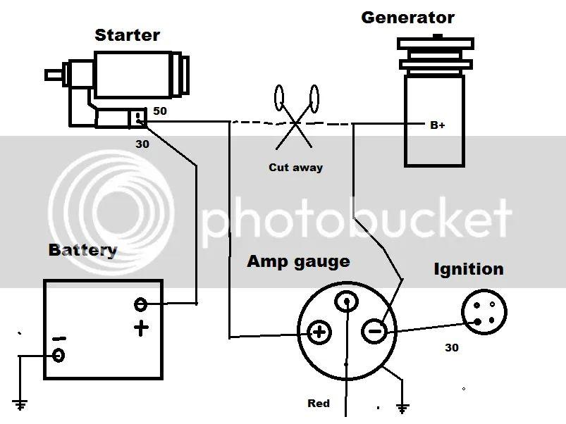 amp gauge mounting problems