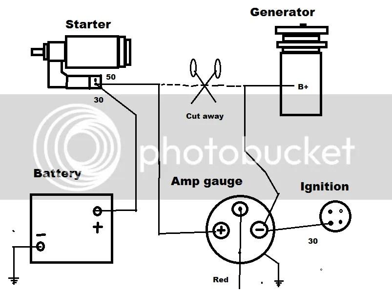 saas volt gauge wiring diagram   30 wiring diagram images