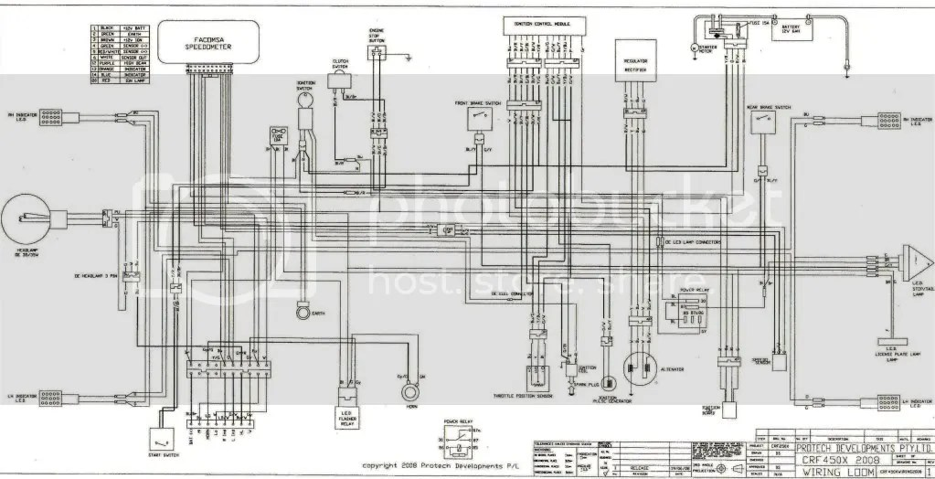 Pin Wr450 Wiring Diagram on Pinterest