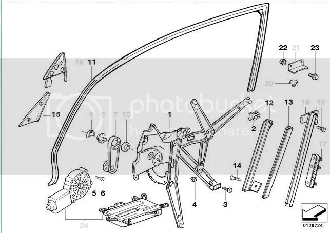 How do you replace the driver side window channel?