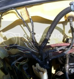 crx community forum u2022 view topic how to wire tuckand a pic of the wires from the headlight loom that cross into the fuse box 14 pin connector wiring  [ 1024 x 768 Pixel ]