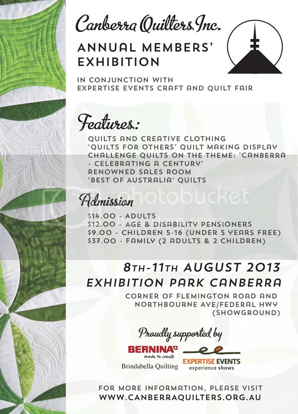 Canberra Quilters Member's Exhibition