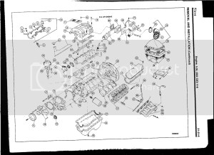 Diagram or picture of 302 assembly (front accessories