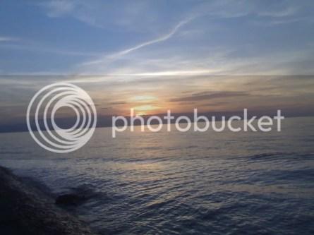 sunset dilihat dari PP