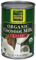 Can of Native Forest Coconut Milk