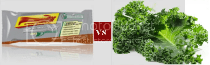 Bar Vs. Kale Picture