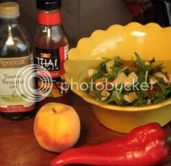 Pic of Mizuna Salad