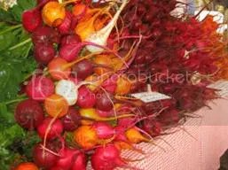 Red Wagon Beets, Golden and Red