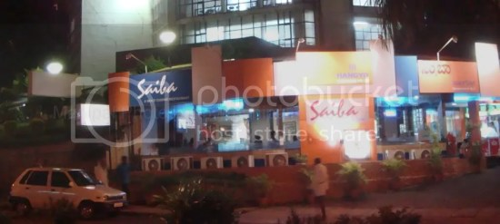 Manipal Hangyo Saiba Restaurant Night Photo