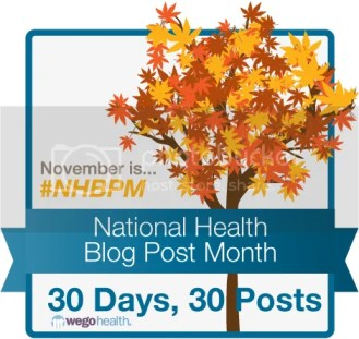 National Health Blog Post Month Banner