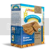 New Morning Organic Honey Grahams
