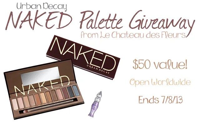 Urban Decay NAKED Palette Giveaway