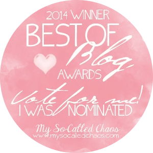 My So-Called Chaos Best of Blog Awards