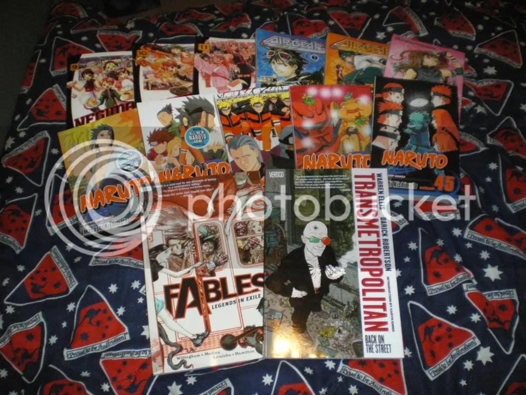 My Manga/Graphic Novels