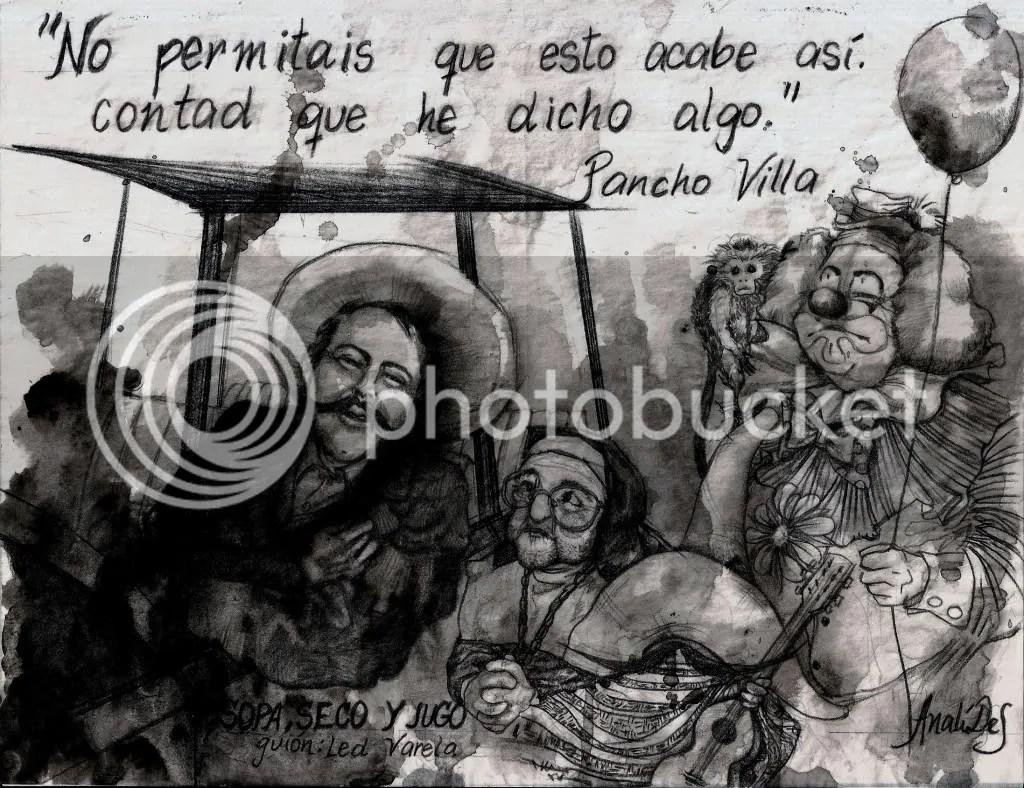 Pancho Villa,monja enano payaso mono,monja,frase,payaso,mono,enano,muerte