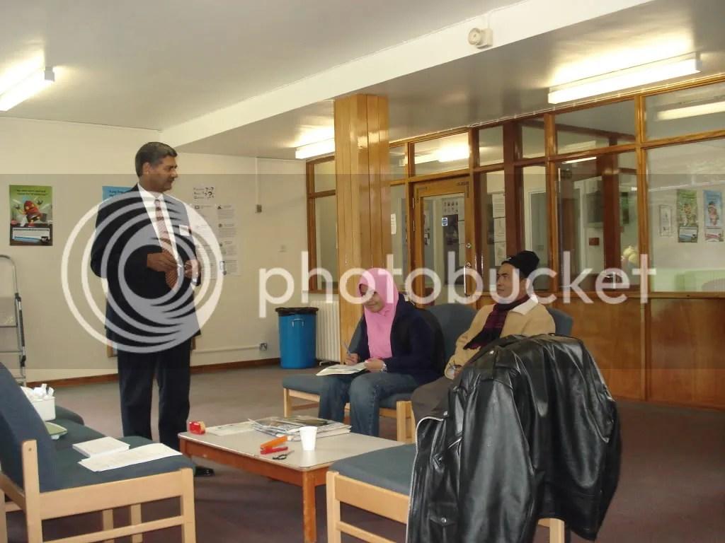 Bersama Warden Muslim