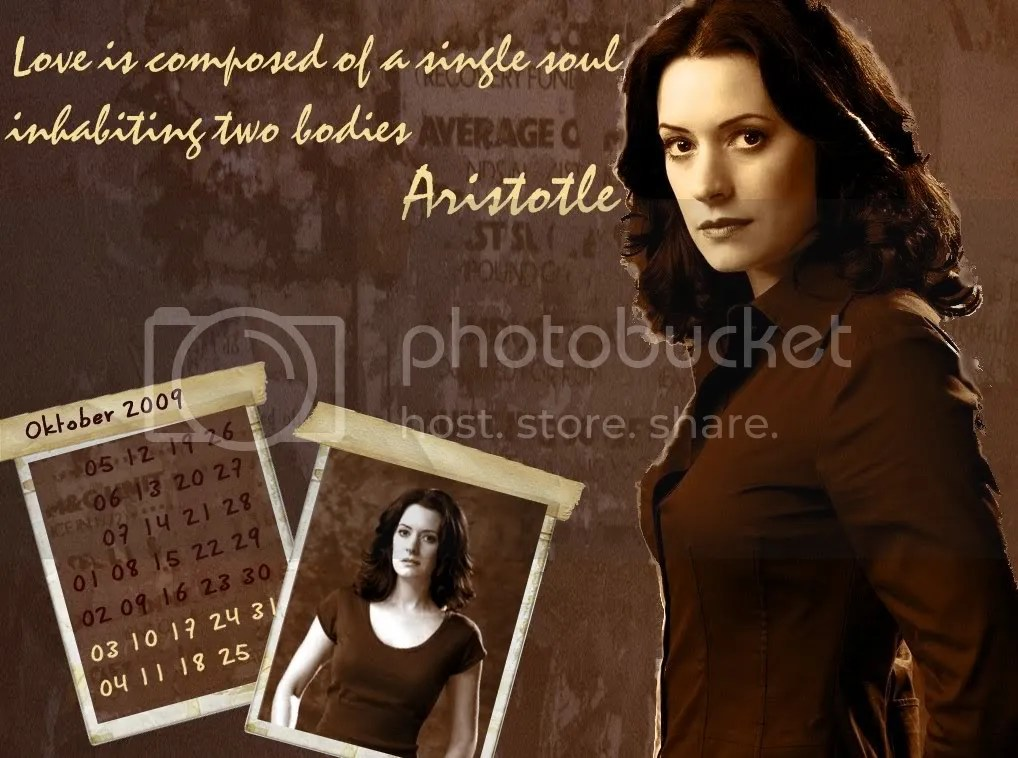 Paget Brewster - Calendar October 2009