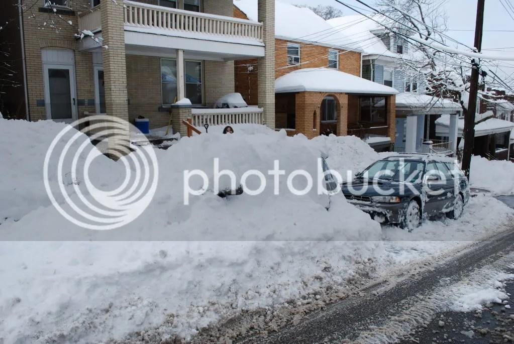 Snowpocalypse 2010 Car Un-Burial