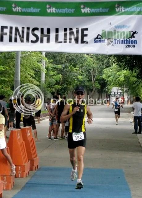 Sprinting the last 200 meters