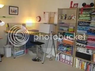 Katie Alender's sewing room