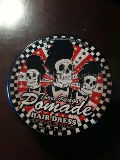 Pomade Review Three Kings Pomade The Rebel Rouser