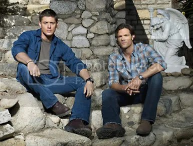Jensen Ackles and Jared Padalecki, image courtesy of TV Guide