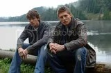 Sam and Dean by the killer lake