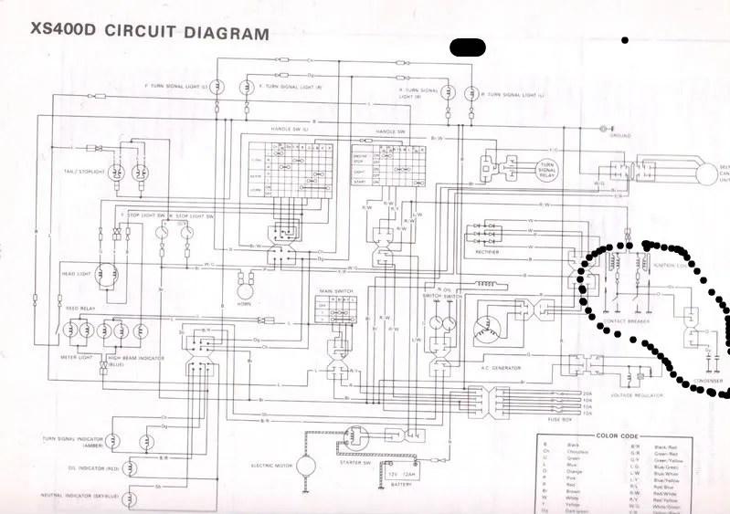 Wiring Diagram Fz600 Troubleshooting Diagrams Wiring