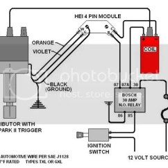Chevy Ignition Coil Wiring Diagram Venn With Lines Pdf Spark Plug 350 Diagramgm Hei Datahei