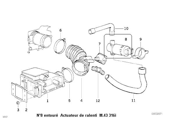 [ BMW E36 316i M43 an 1993 ] ralenti instable et odeur d