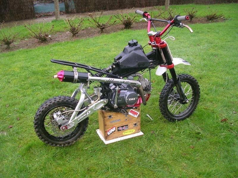 Vds Crz Perso En Pice  Crazy Moto
